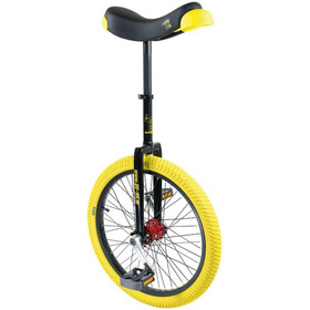 QU-AX Profi ISIS Unicycle yellow/black